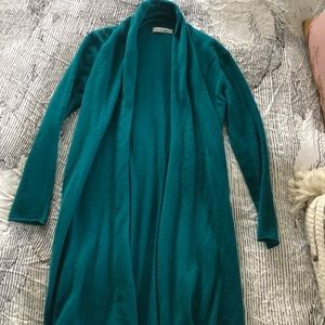Caroline Grace 100% cashmere breezy duster